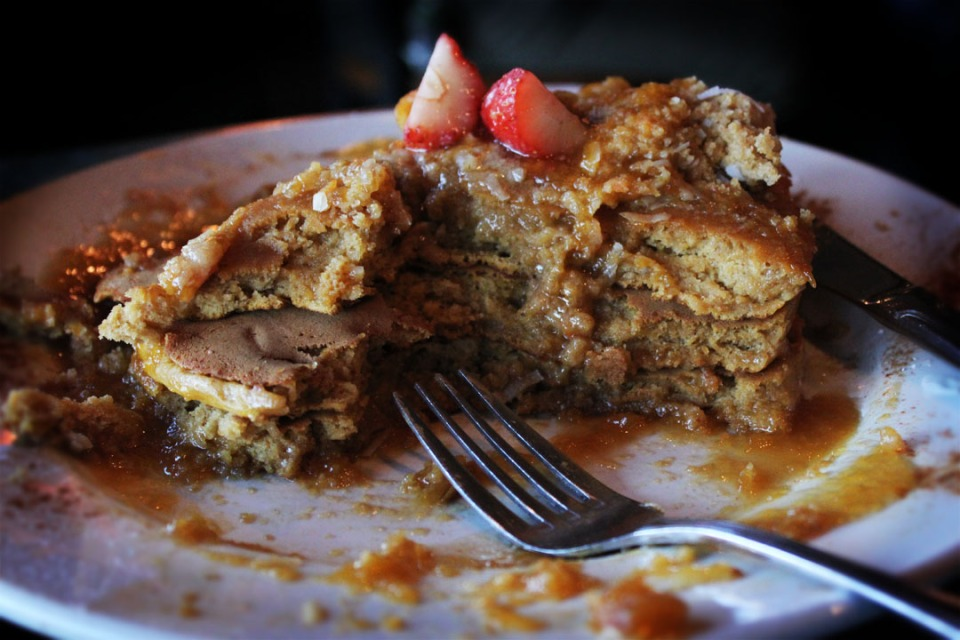 Sabrina's Cafe:  Pancake Mess