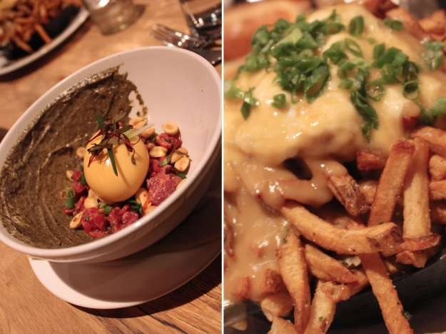Tartare and Poutine