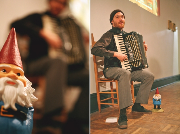 Gnome and Accordioniste