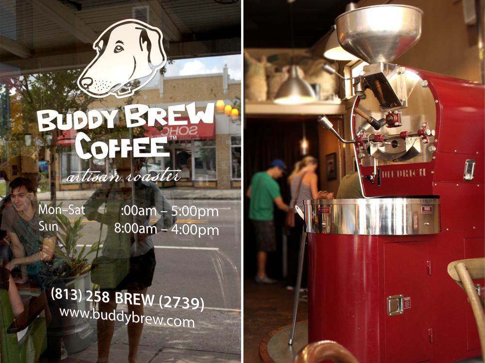 Buddy Brew Coffee Food Menu