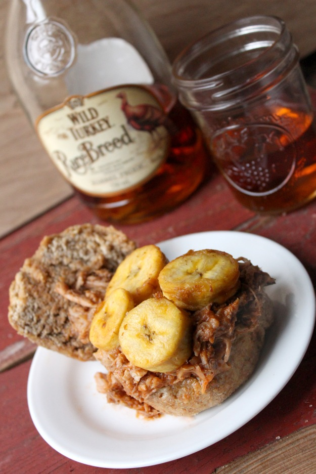 Pulled Pork and Plantains and Bourbon