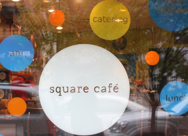 Square Cafe Front Window