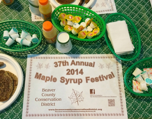 Maple Syrup Fest Place Setting