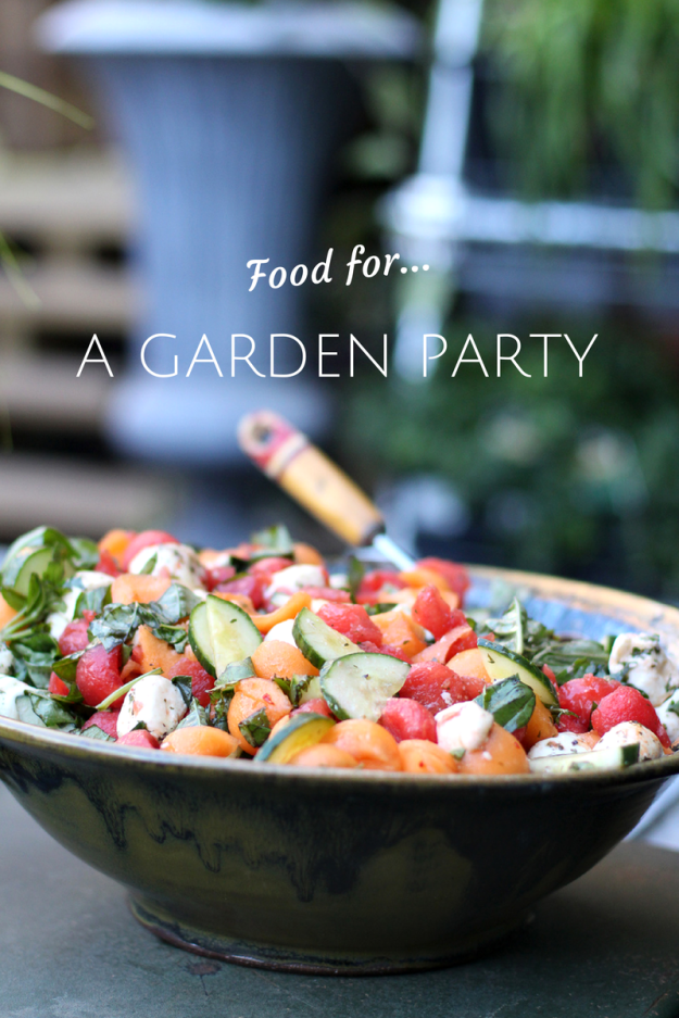 Garden Party Food Ideas