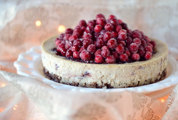 Eggnog Cranberry Cheesecake 02