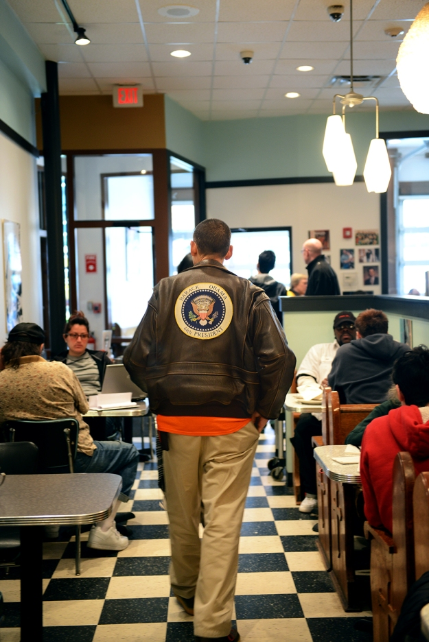 Breakfast with Obama // www.WithTheGrains.com
