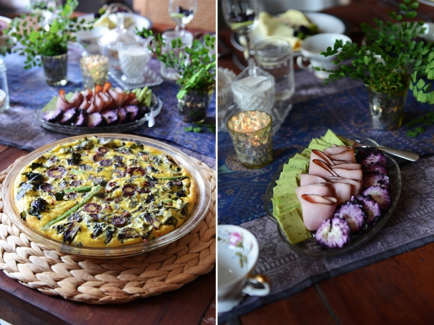 Purple and Green Brunch by With The Grains 14