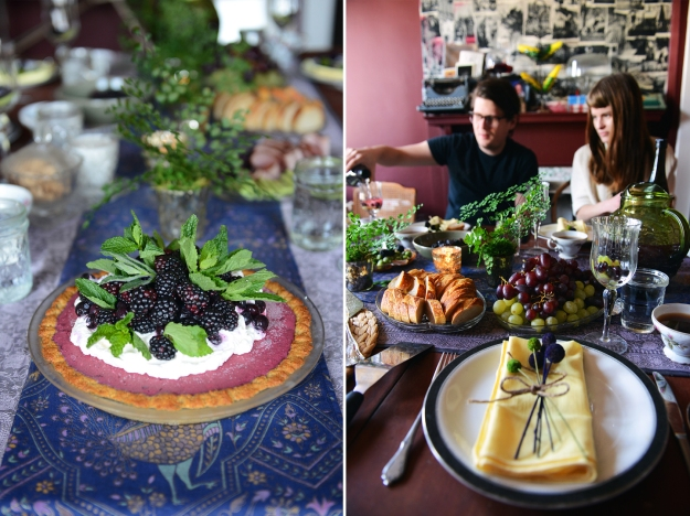 Purple and Green Brunch by With The Grains 15